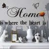Wallsticker - Home Is Where The Heart Is