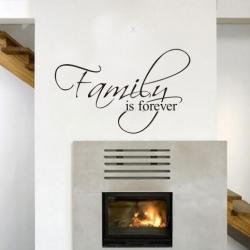 Wallsticker - Family is forever