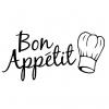 Wallsticker - Bon Appetit