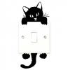 Wallsticker - Sød kat - kontaktsticker