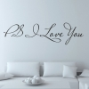 Wallsticker - PS I Love You