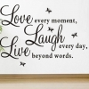 Wallsticker - Love every moment...