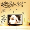 Wallsticker - Romantic Flower Wall