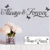Wallsticker - Always & Forever
