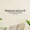 Wallsticker - Hakuna Matata