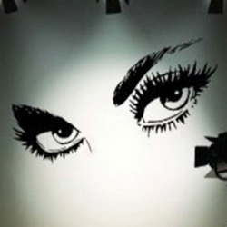 Wallsticker - Sexy Eyes