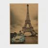 Vintage poster - Paris, Eiffeltårnet